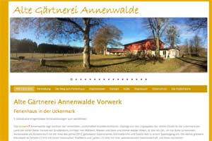 Screenshot Alte Gaertnerei
